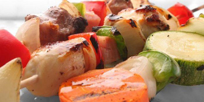 Receta de tempura de pinchitos de tofu y verduras