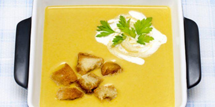 Receta de sopa o caldo de chirivía y verduras