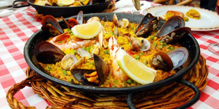 Receta de paella de marisco, fácil de hacer