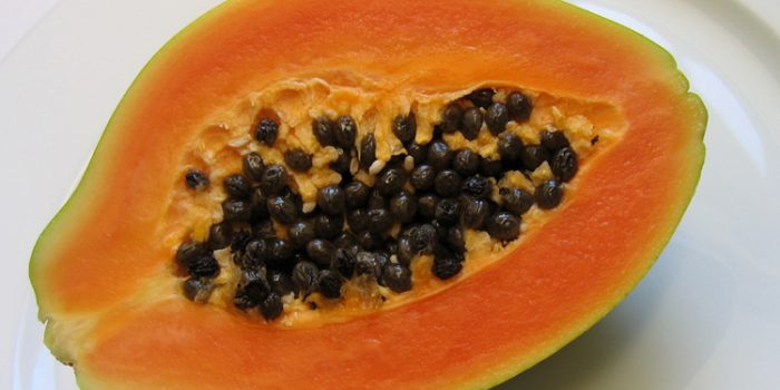 calorias y carbohidratos de la papaya