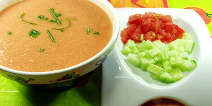 Cómo hacer gazpacho andaluz