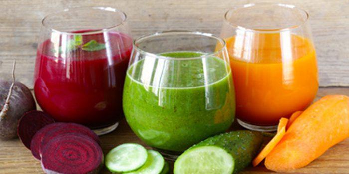 Propiedades de los zumos verdes