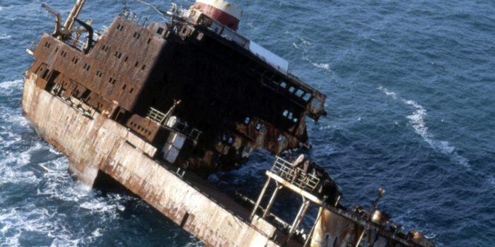Naufragios de petroleros, toda una catastrofe