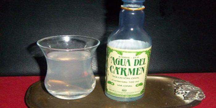 Agua del Carmen, propiedades y composición