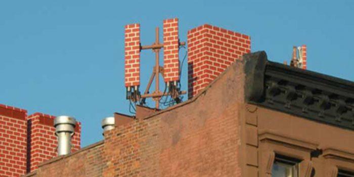 Antenas de telefonía camufladas