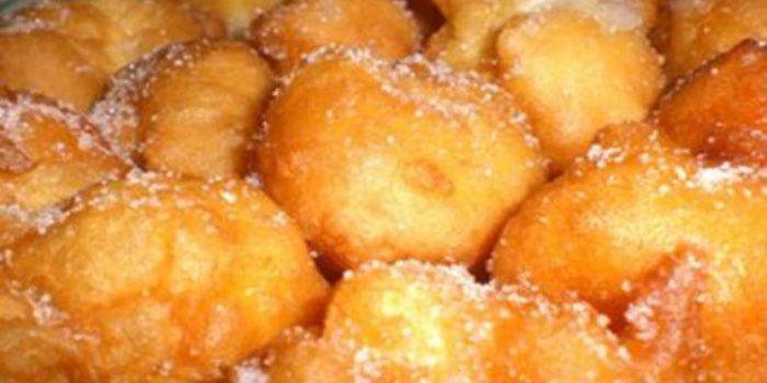 Cómo hacer buñuelos, receta valenciana