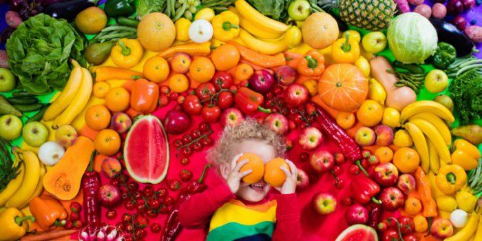 Color de los alimentos: propiedades de los diferentes colores