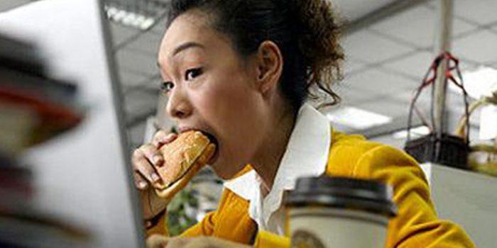 Inconvenientes de comer rápido