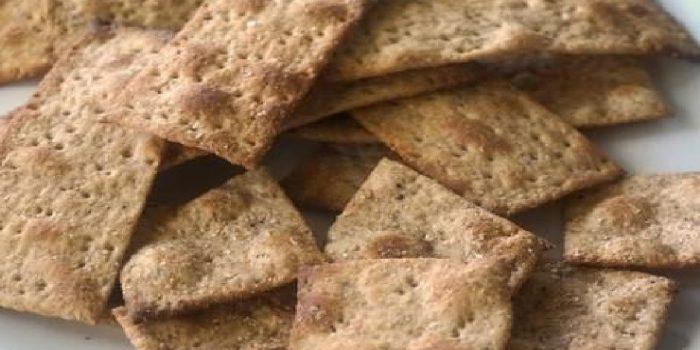 Receta de Crackers de Trigo Sarraceno
