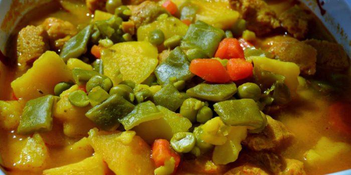 Recetas de Estofados de verduras