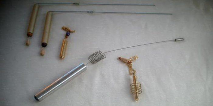 Instrumentos de radiestesia