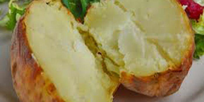 Patatas asadas, receta tradicional