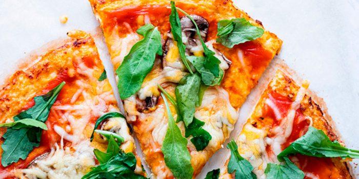 Pizza con base de coliflor: ingredientes y preparación
