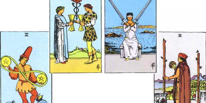 Significado de los Arcanos de número 2