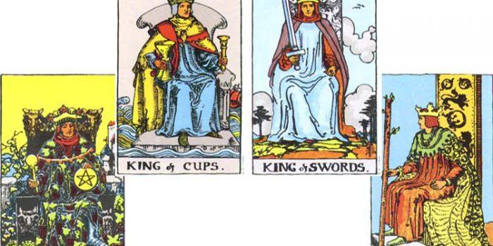 Simbolismo de los Reyes en la baraja