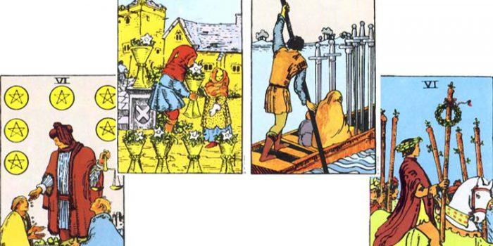 Significado de los Arcanos de número 6