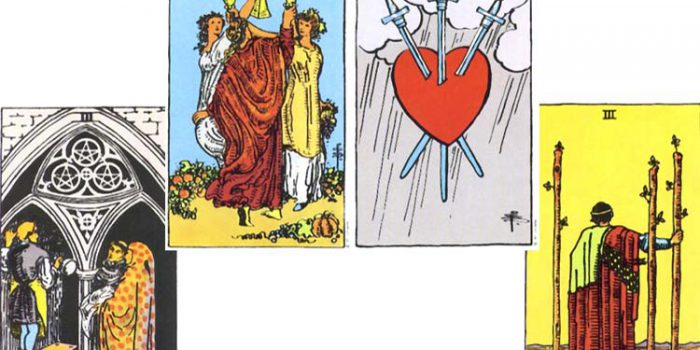 Significado de  los Arcanos de número 3