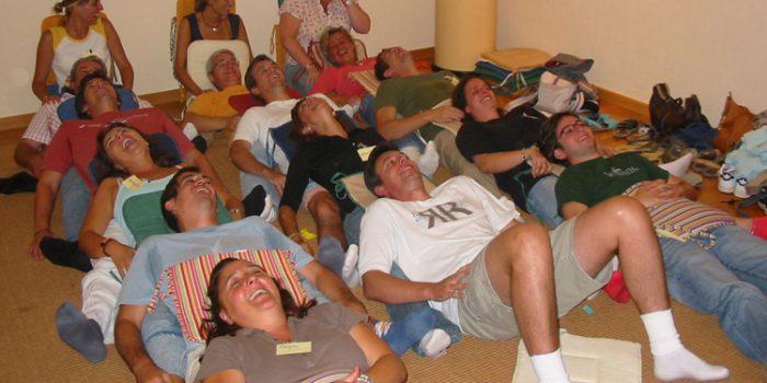 Ejercicios de Risoterapia para aprender a reír