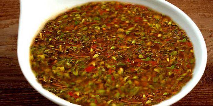 Salsa chimichurri, receta típica