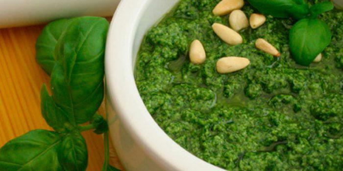 Salsa de Pesto casero